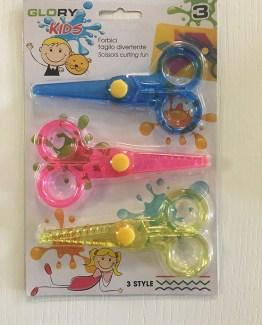Set 3 forbici per bambini