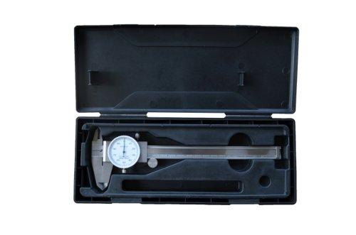 Paquímetro de 150 mm em inox com relógio