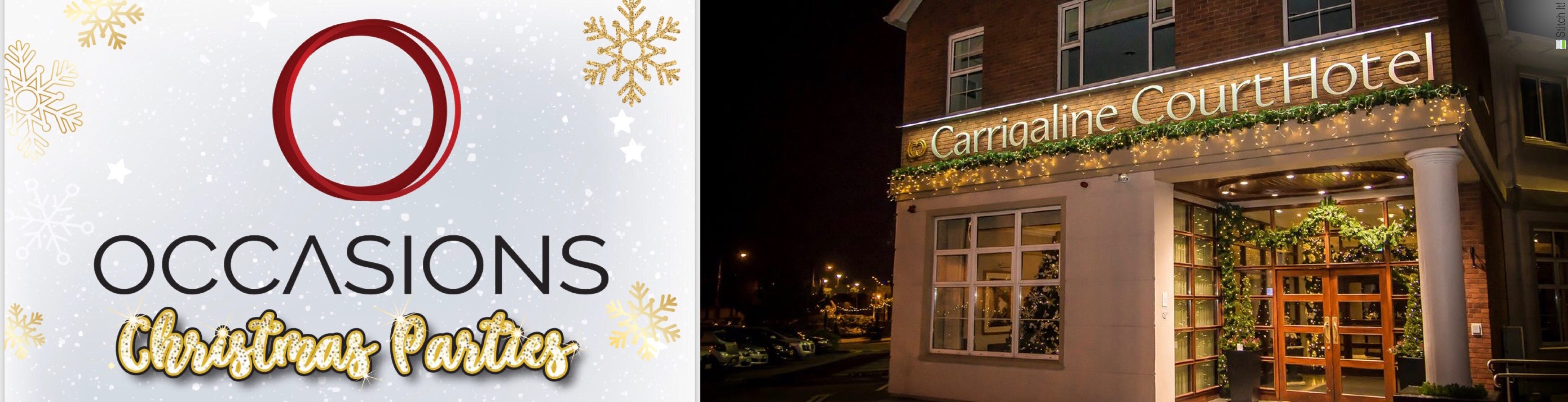 Occasions Christmas Parties - Carrigaline Court Hotel