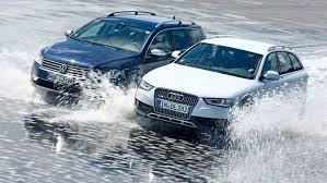 Les versions Quattro des Audi et 4-Motion des VW
