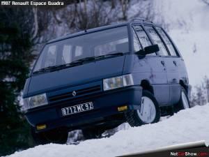 Renault Espace Quadra de 1988