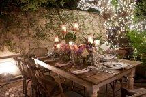 Romantic - long table setting