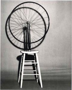 Une roue de vélo (Marcel Duchamp)