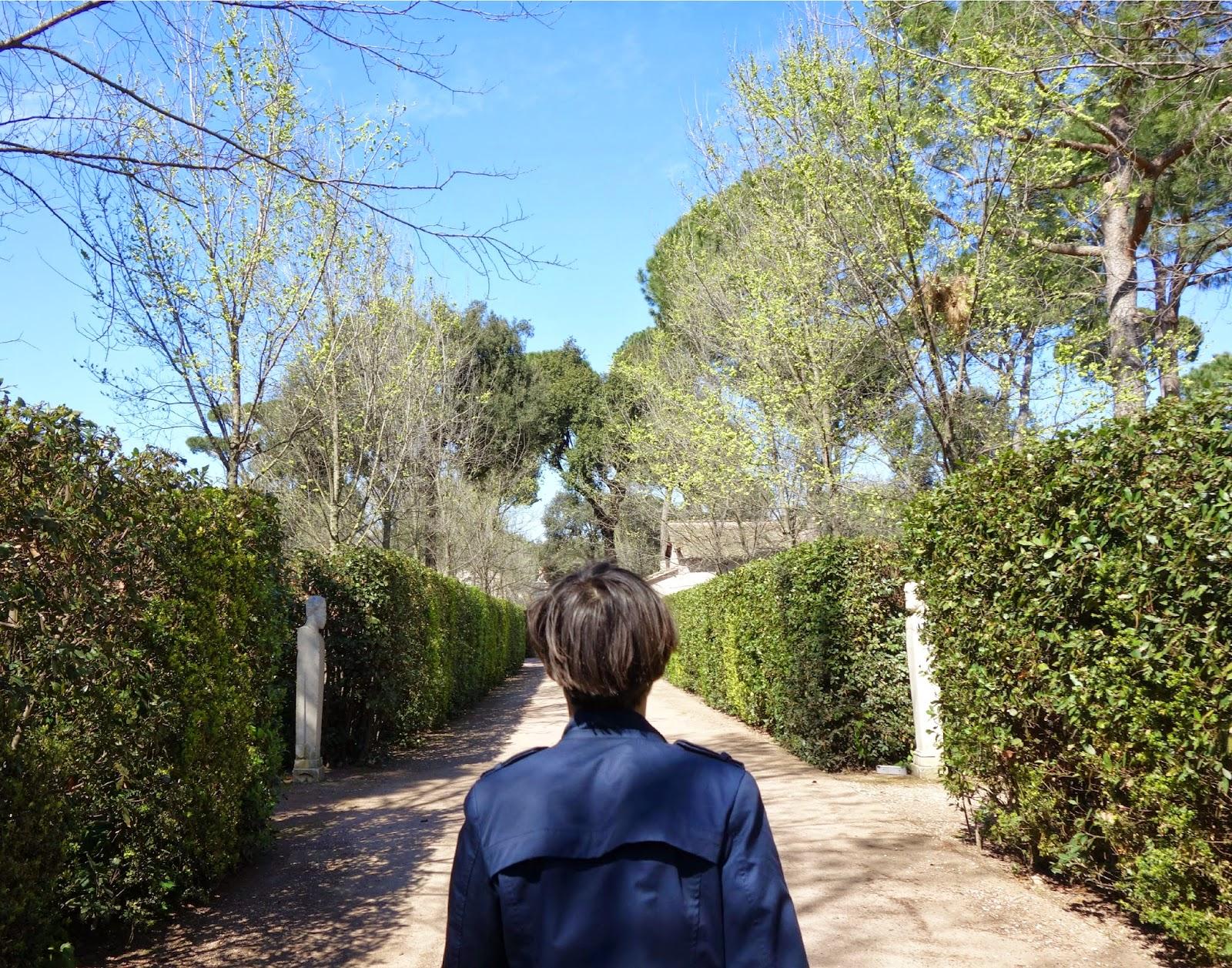 Suis-moi, on visite la Villa Médicis