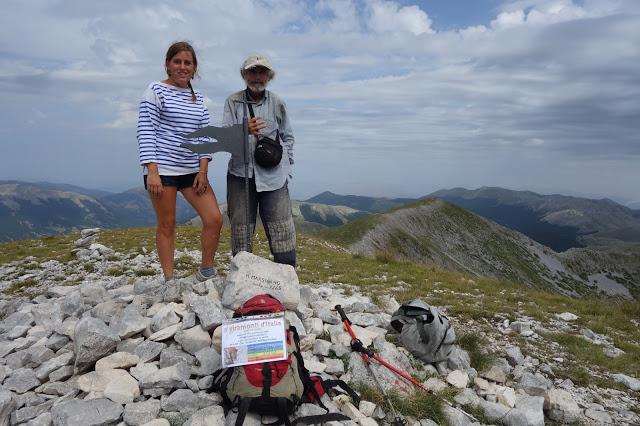 Monte Marsicano sommet