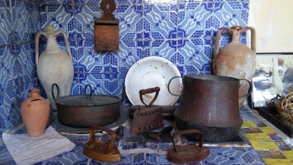 Une cuisine traditionnelle en Sicile
