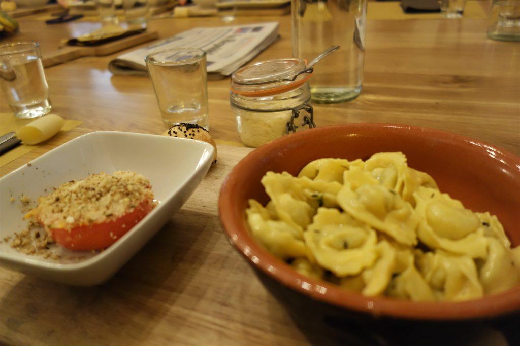 Les expressions italiennes gastronomiques