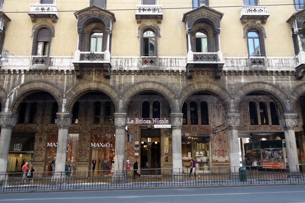 gênes shopping