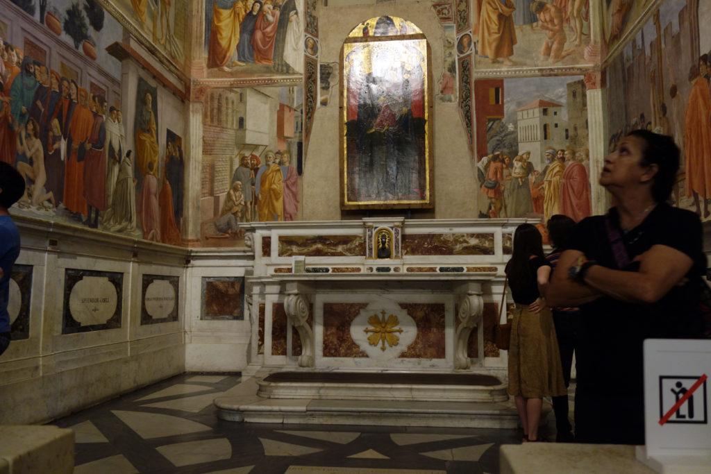 La Chapelle Brancacci à Florence