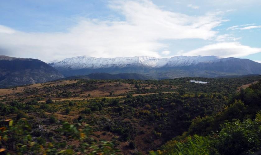Sulmona, cachée entre les montagnes