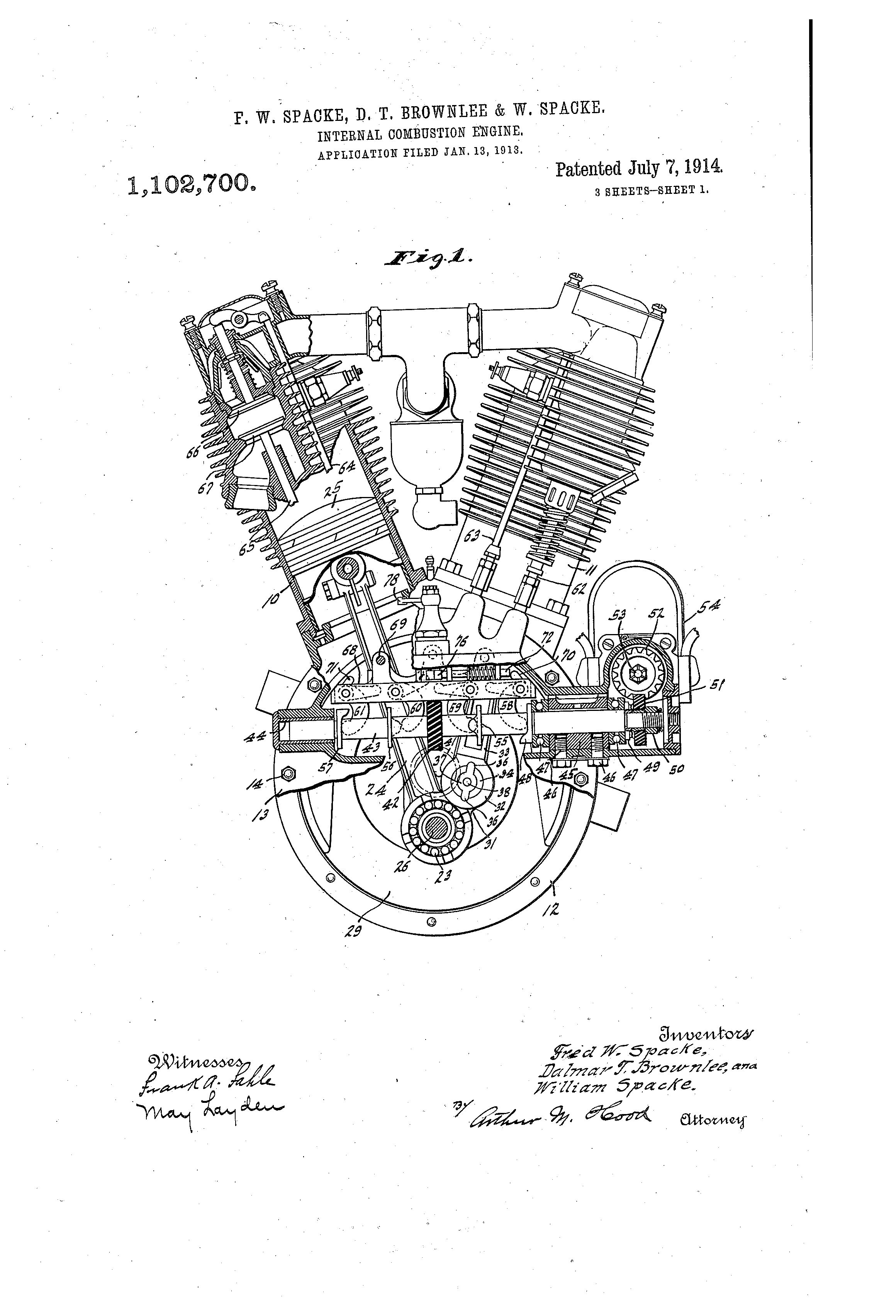 V Twin Engine Diagram
