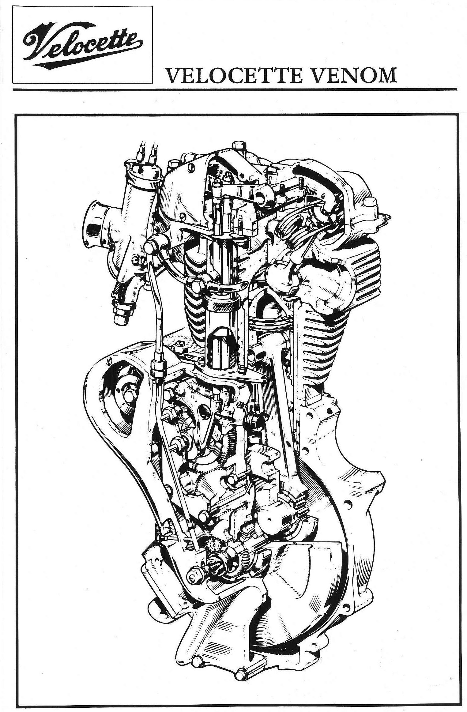hight resolution of venom motor