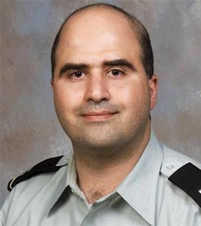 Handout photo showing Hasan, U.S. Army doctor identified by authorities as suspect in shooting at U.S. Army post in Fort Hood, Texas