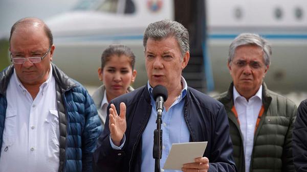 Presidente Santos en Mocoa