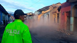 Tres fueron las casas demolidas
