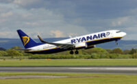 Ryaniar servicing airports in area with easy access.