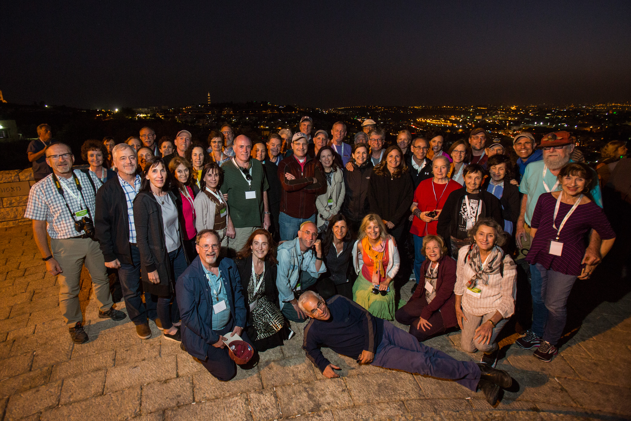 Group Photo (Overlooking old city)