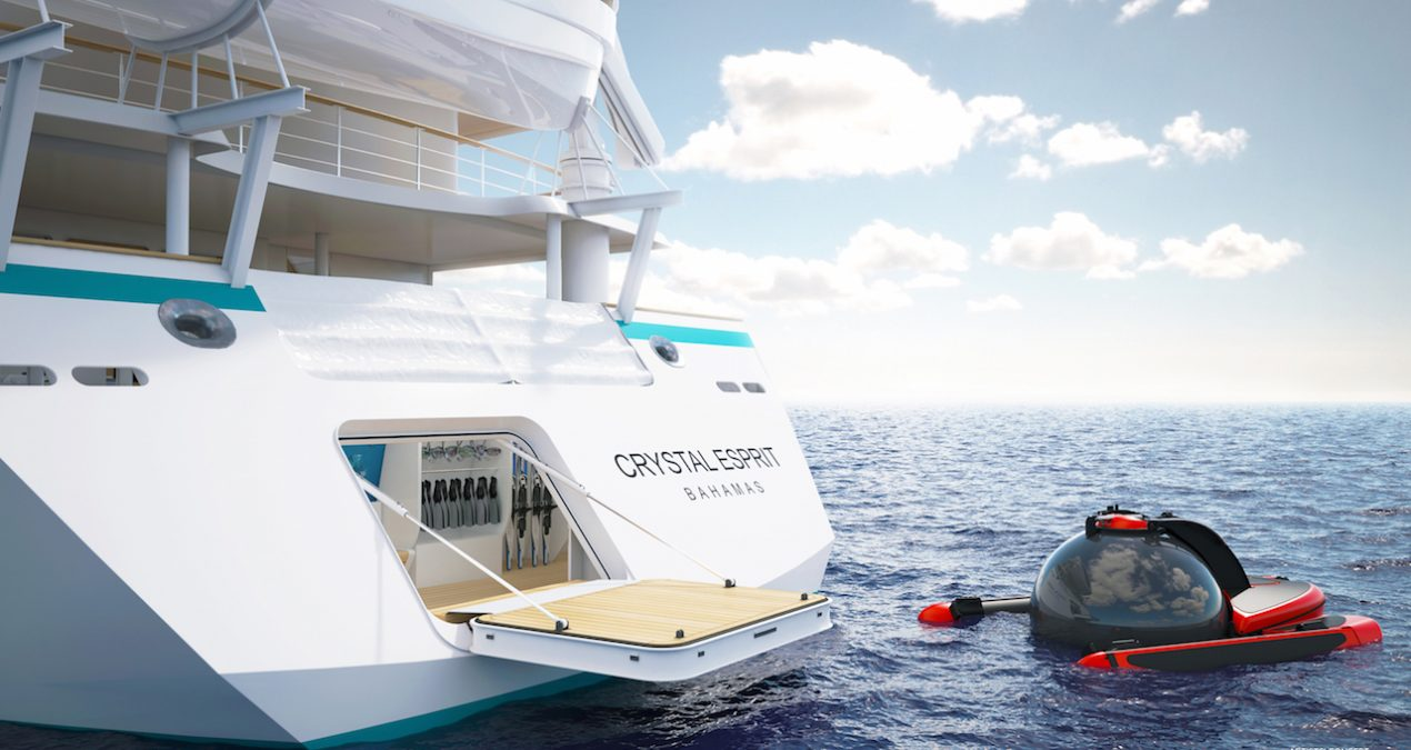 Luxury Yacht, Submarine to Cruise the Mediterranean