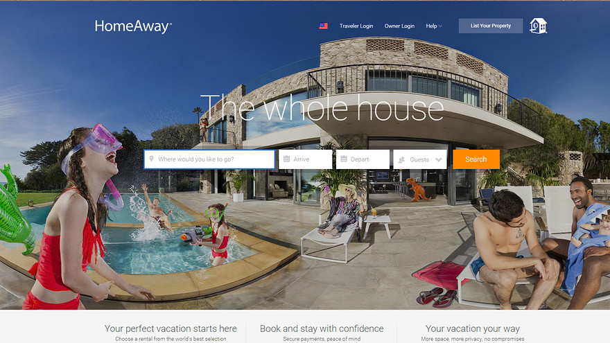 Expedia buys HomeAway for almost $4 Billion