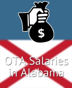 OTA Salaries in Alabama's Major Cities