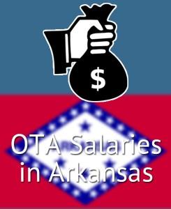 OTA Salaries in Arkansas's Major Cities