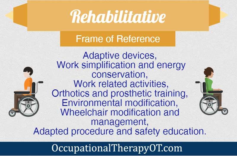Rehabilitative Frame of Reference | OccupationalTherapyOT.com