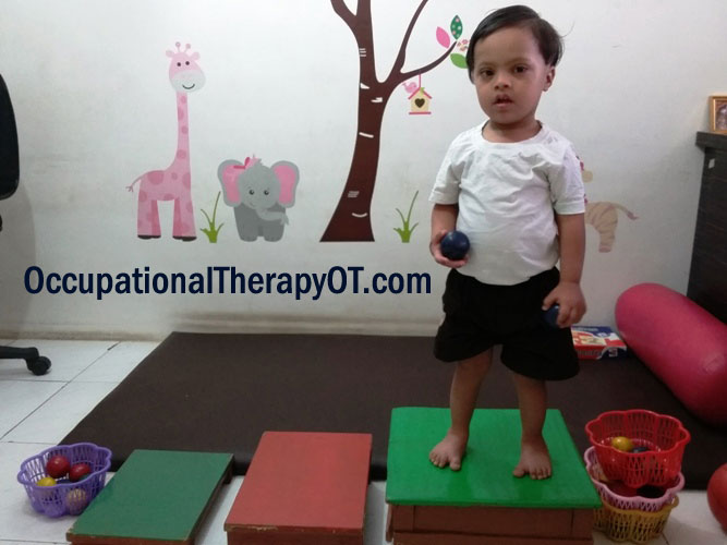 occupational therapy down syndrome activity