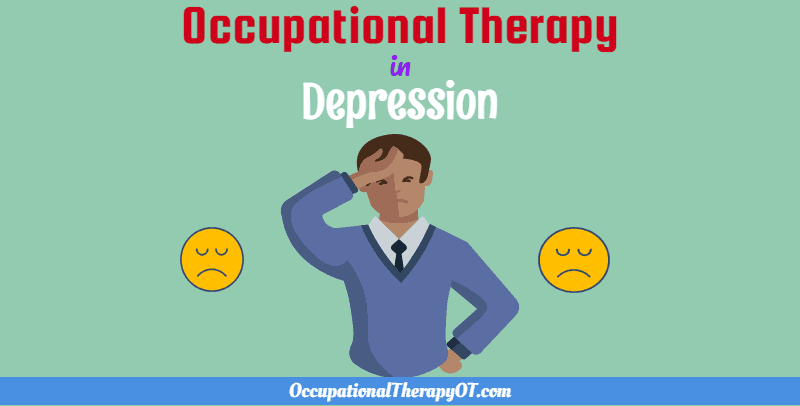 occupational therapy in depression