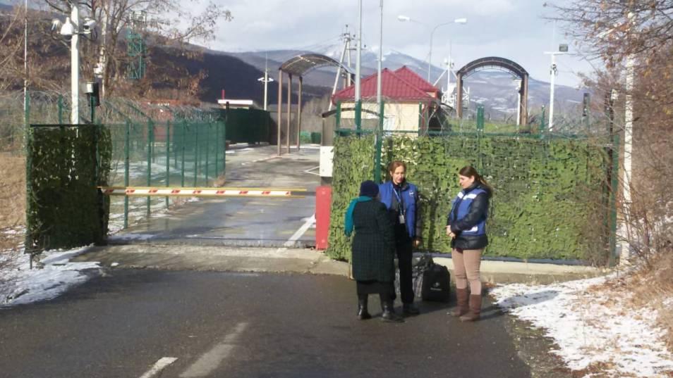 Odzisi / Akhalgori checkpoint reopened