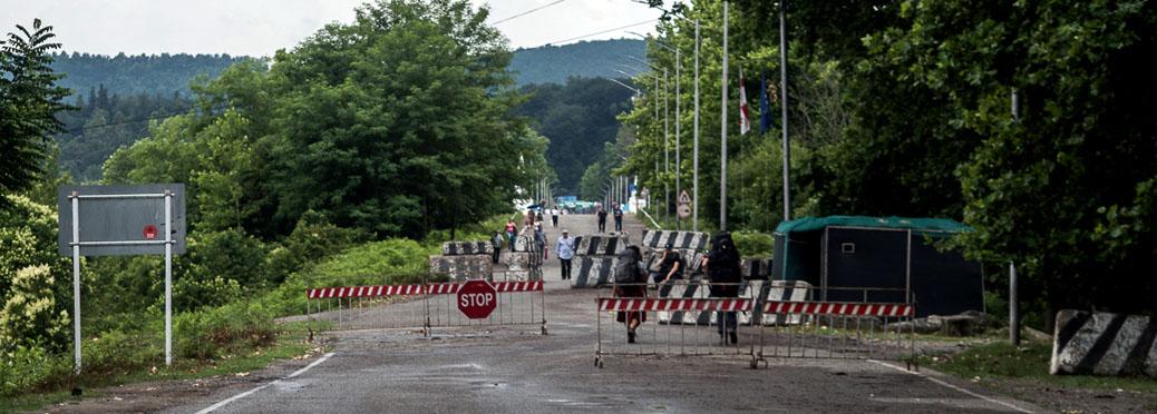 Checkpoint regime Abkhazia