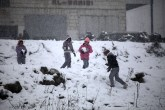 Jan 10 2013 Ramallah covered in Snow - Snow in Palestine - Photo by Eyad Jadallah- WAFA