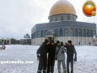 Snow in Palestine - Snow in Jerusalem Photo via QudsMedia - 43