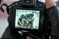 Saraya al-Quds Brigade Mujahideen during Eid prayers – Oct 15 2013 Photos by PalToday