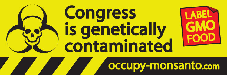 occupy monsanto banner11 Monsantos Lobbying Expenses 2002 2012