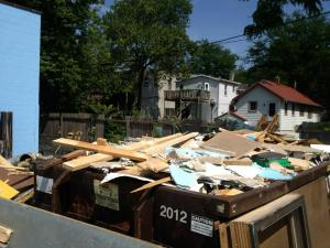 Dumpster diving for lumber