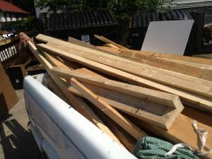 Salvaged lumber