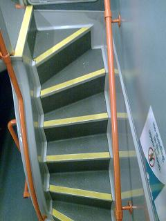 Doubledecker stairs  What occurs