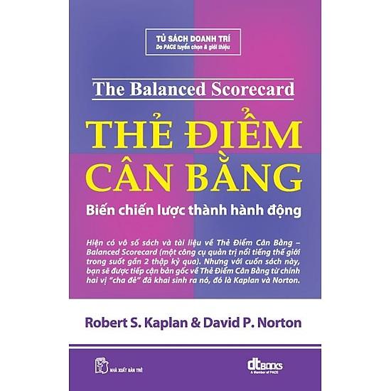 Cuốn sách Thẻ điểm cân bằng - Biến chiến lược thành hành động