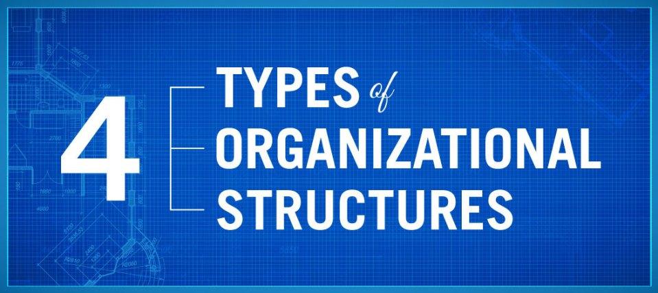 4 loại cơ cấu tổ chức phổ biến trong doanh nghiệp