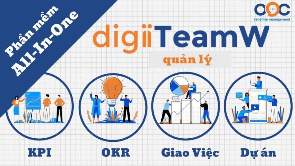 digiiTeamW - Phần mềm All In One