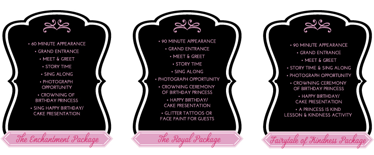princess packages