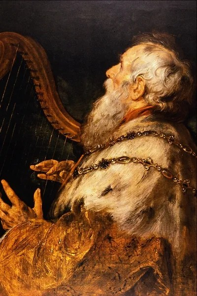 King David by Peter Paul Rubens.