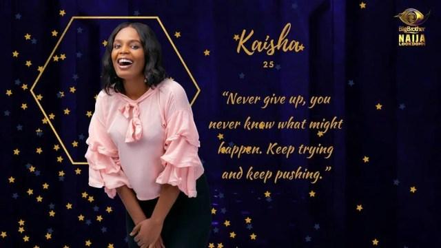 Kaisha [Instagram/BigBroNaija]