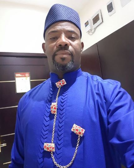 Okey Bakassi has a message for busybodies on social media [Instagram/OkeyBakassi]