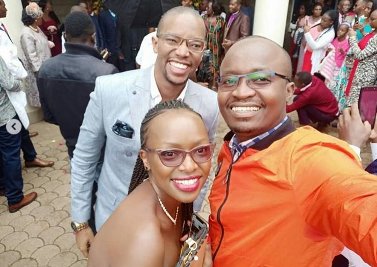 Citizen TV's Sam Gituku weds colleague in lavish wedding