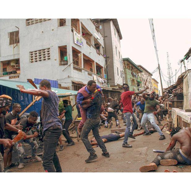 Pasuma in 'Gangs of Lagos' [ Instagram/jadeosiberu]
