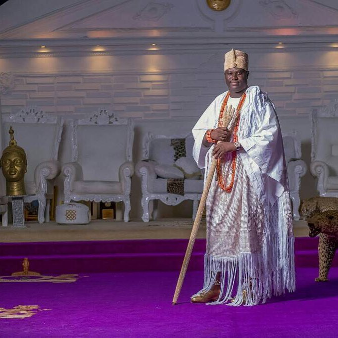 The Ooni of Ife is a master story teller (Instagram/Ooni of Ife)