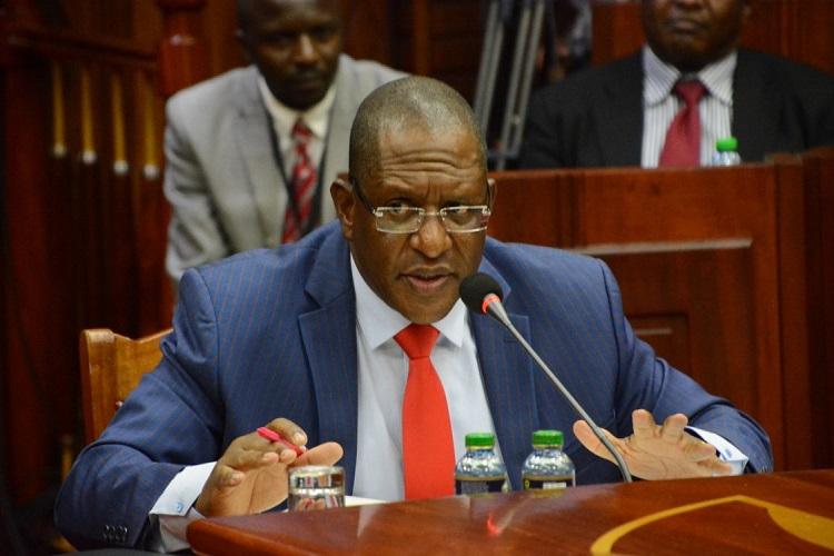 Environment Cabinet Secretary Keriako Tobiko