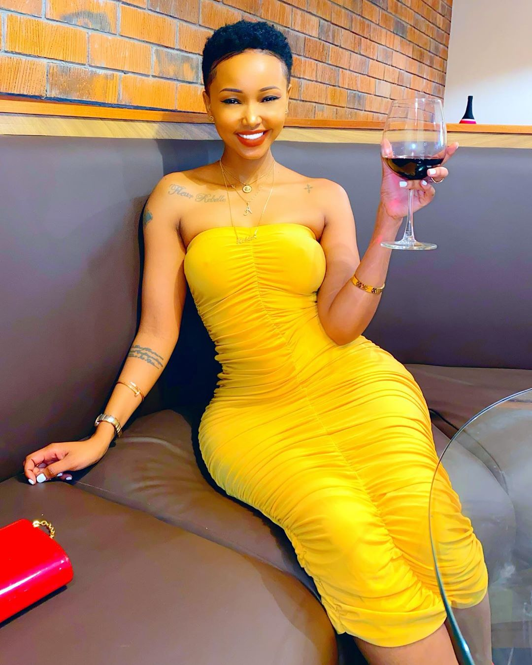 Huddah Monroe lectures young girls dating married men in series of rants