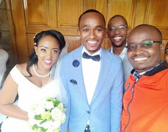 Citizen TV's Sam Gituku weds  Ivy Waitherero